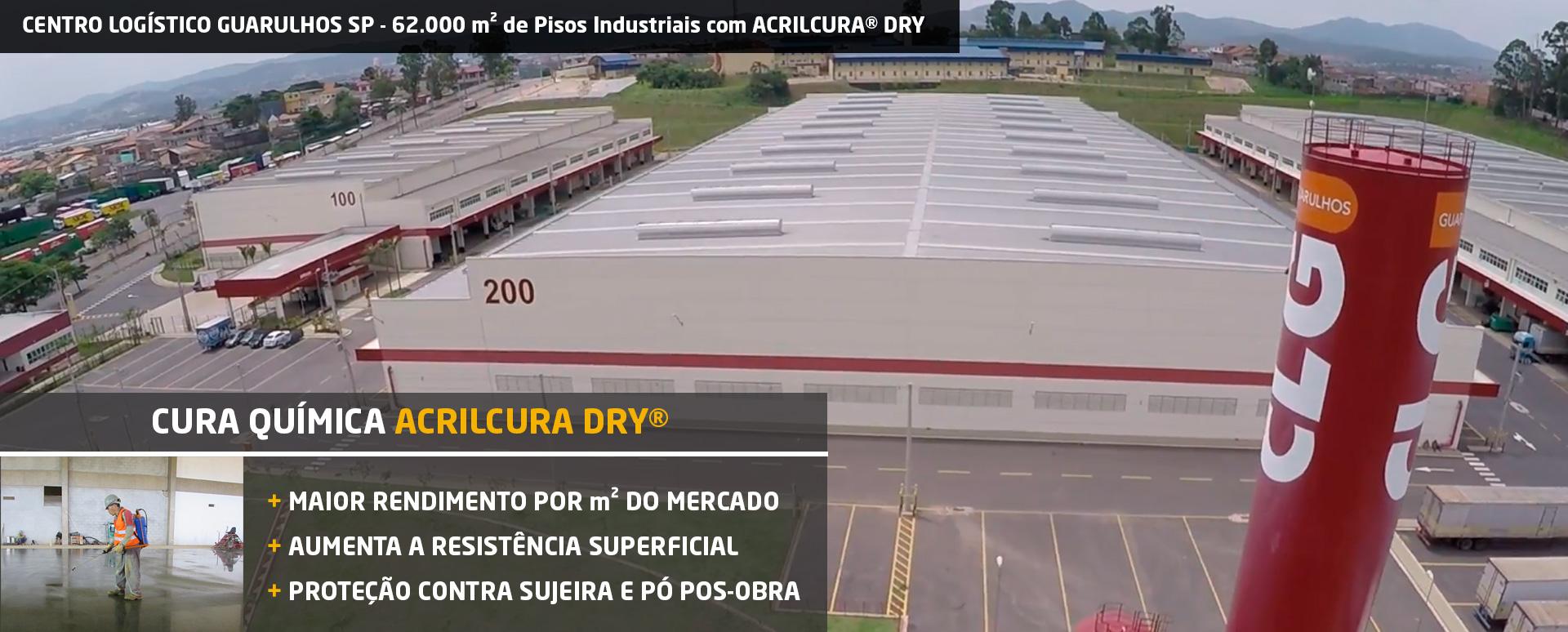 Cura do Concreto Centro Logístico Guarulhos