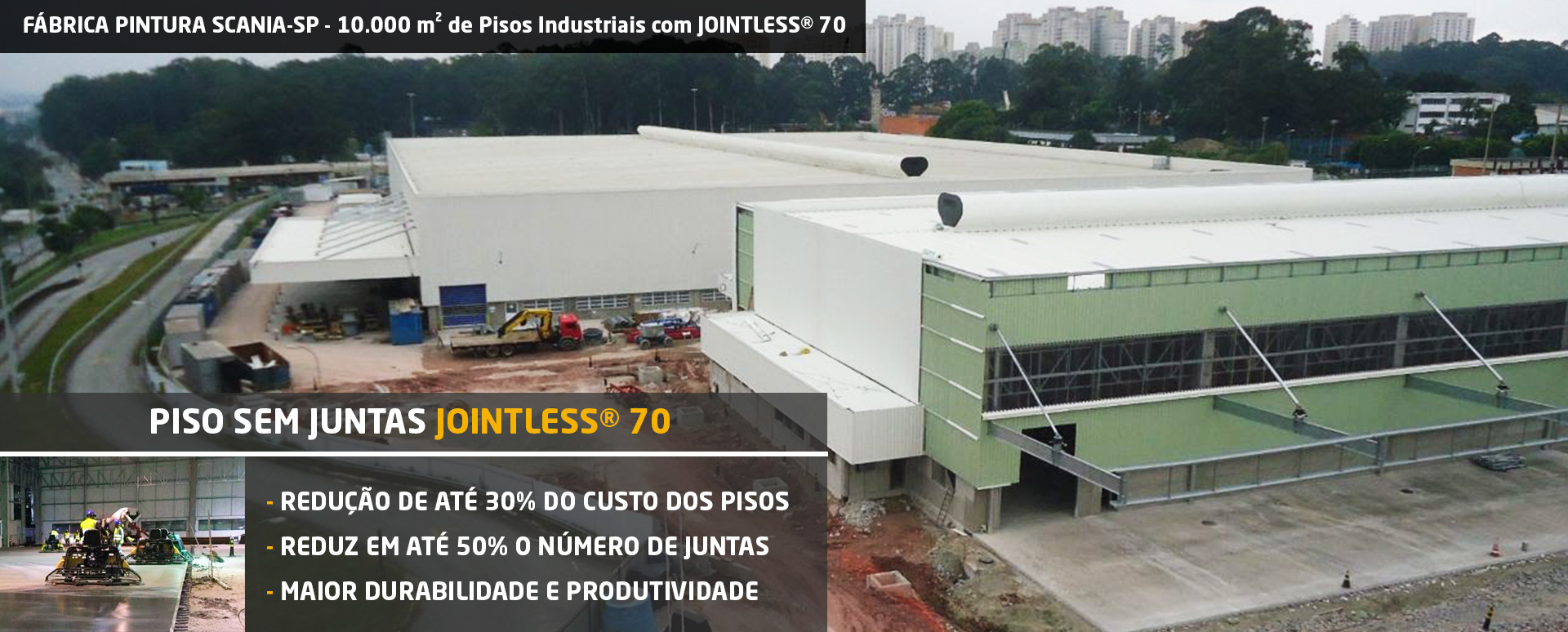 Piso sem Juntas JOINTLESS 70