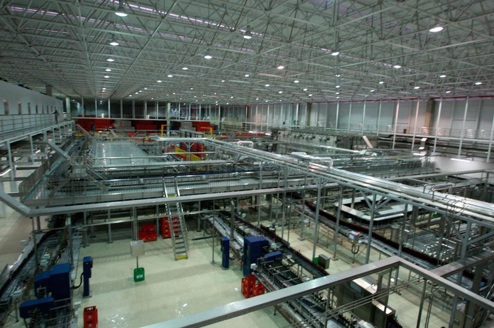 Vista Interna Fábrica Petrópolis