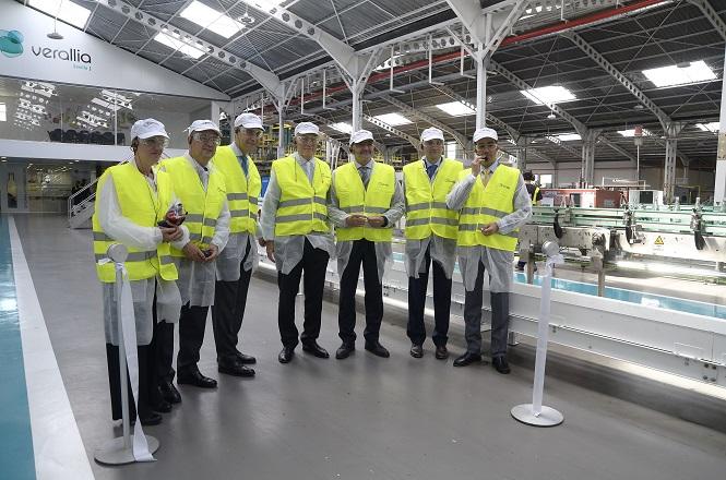 Pisos Industriais da Fábrica Verália com Macrofibra FF54 PRO